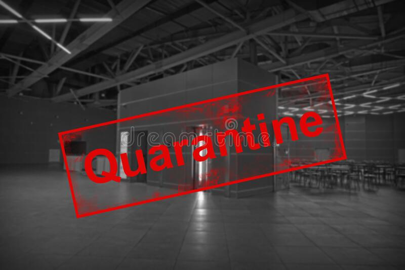 quarantin-empty-cafe-exhibition-complex-hall-due-to-epidemic-covid-176583410