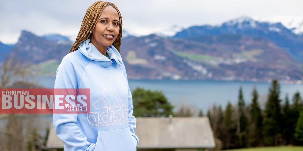 Addis Gezahegn marathoner